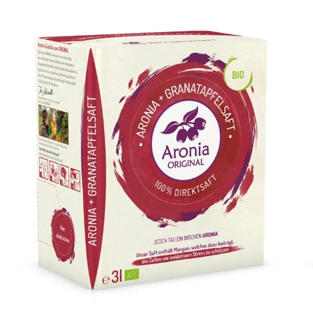아로니아 오리지날 유기농 아로니아&석류 원액쥬스 3L