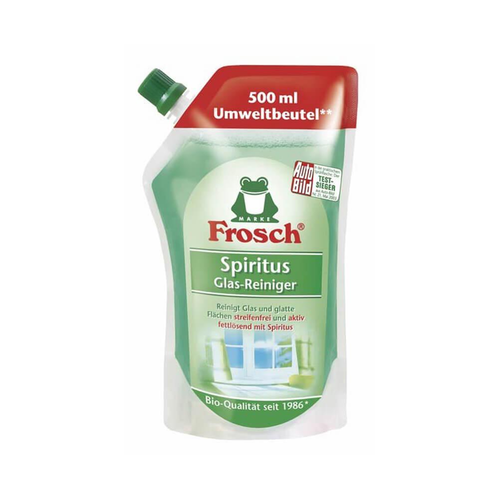 Frosch Spiritus Glas-Reiniger 108858 , 500 ml - Nachfüllbeutel