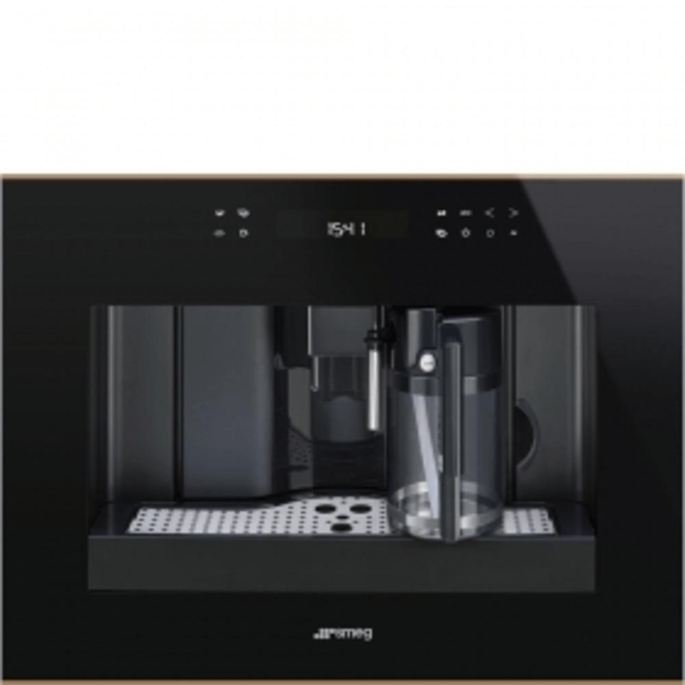 Smeg Einbau-Kompakt-Kaffeevollautomat CMS4601NR Dolce Stil Novo schwarz 45cm