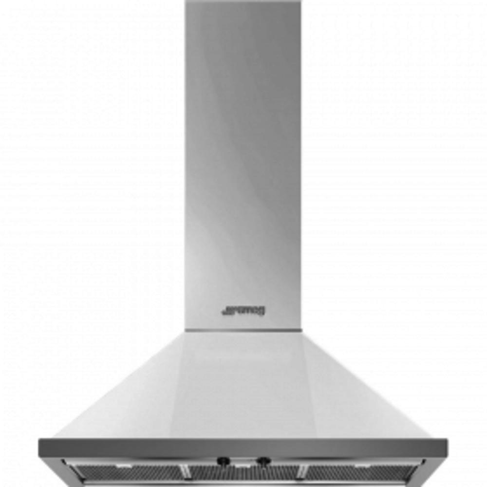 Dekor-Wandhaube, 90cm, Weiß, Portofino Design, Rahmen-Filtereinfassung in Edelstahl, 3 Leistungsstufen + INTENSIV, 2 LED-Beleuchtungen, ENERGIE-EFFIZIENZKLASSE A+