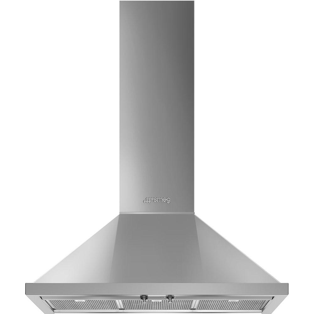 스메그 월타입 데코후드 KPF9X Portofino Design 스테인리스 90cm