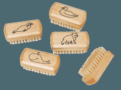 레데커 어린이용 네일브러쉬 비취목 / 밝은색의 브러쉬