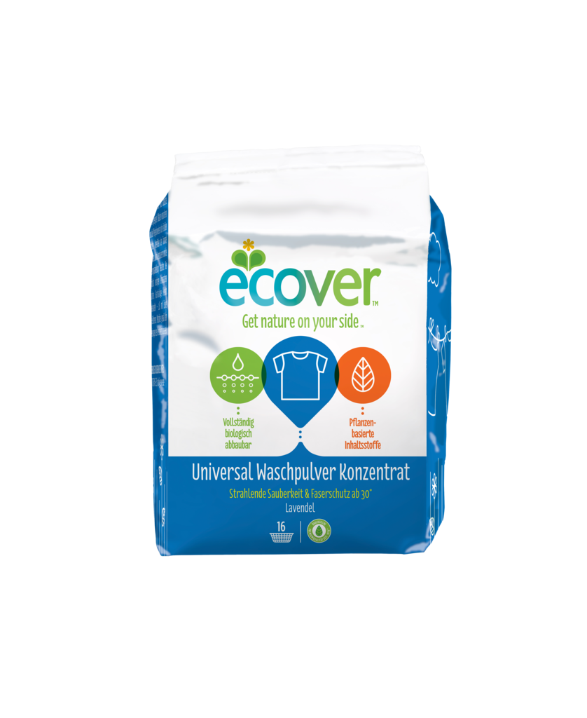 에코버 유니버셜 세탁용 분말세제 1.2kg - 한국 익일 발송