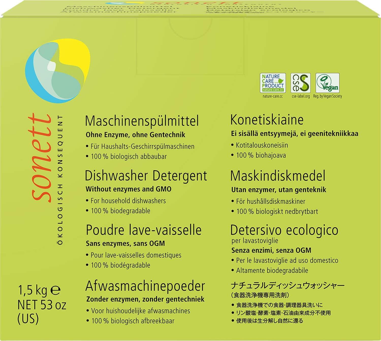 소네트 식기세척기용 분말 세제 1,5kg