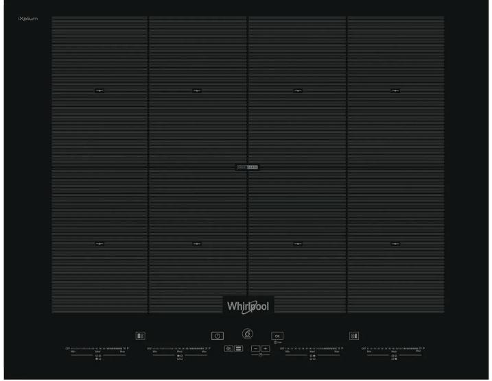 [프로모션상품] 월풀 SMO 658C / NE 멀티존 인덕션 전기렌지 2년 A/S - 설치비별도