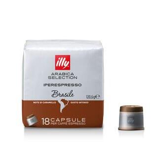 [합배송]  일리 캡슐커피 모노아라비카 브라질 18캡슐 x 12팩