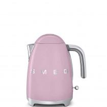 (CO2) SMEG 50's Retro Style, 1,7 L - Wasserkocher, Cadillac Pink, Soft Opening Kannenverschluss, Anti-Kalkfilter, 2400 W