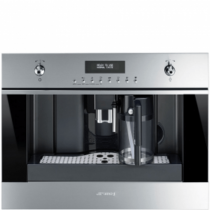 Smeg Einbau-Kompakt-Kaffeevollautomat CMS6451X Classici Edelstahl 60x45cm