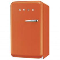 SMEG 50's Retro Style, Standkühlschrank mit 4****Gefrierfach, 60 cm Orange, Linksanschlag, Energieeffizienzklasse A+