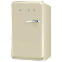 SMEG 50's Retro Style, Standkühlschrank mit 4****Gefrierfach, 60 cm Creme, Linksanschlag, Energieeffizienzklasse A+