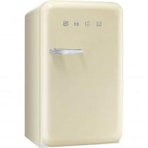 SMEG 50's Retro Style, Standkühlschrank mit 4****Gefrierfach, 60 cm Creme, Rechtsanschlag, Energieeffizienzklasse A+