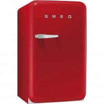 SMEG 50's Retro Style, Standkühlschrank mit 4****Gefrierfach, 60 cm Rot, Rechtsanschlag, Energieeffizienzklasse A+
