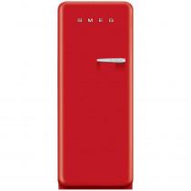 Smeg Standkühlschrank FAB28LR1 50's Retro Style 4**** Gefrierfach Energieeffizienzklasse A++ Linksanschlag Rot 60 cm