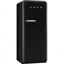 Smeg Standkühlschrank FAB28RNE1 50's Retro Style 4**** Gefrierfach Energieeffizienzklasse A++ Rechtsanschlag Schwarz 60 cm