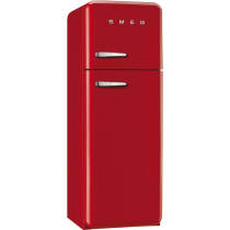 스메그 FAB30RR1 냉장고 레드 - 좌측손잡이