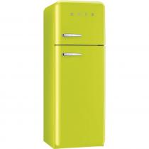스메그 FAB30RVE1 냉장고 애플그린 - 좌측손잡이