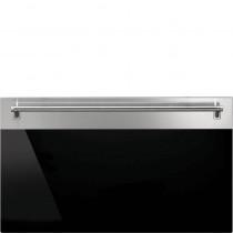 Smeg Tür-Kit KP43M Classici, horizontale Kombination: 60cm Einbaubackofen, 45cm Mikrowelle- und Backofen, 15cm Wärmeschublade