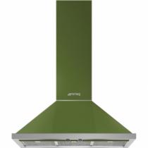 스메그 월타입 데코후드 KPF9OG Portofino Design 올리브그린 90cm
