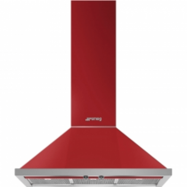 스메그 월타입 데코후드 KPF9RD Portofino Design 레드 90cm