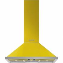 스메그 월타입 데코후드 KPF9YW Portofino Design 옐로우 90cm