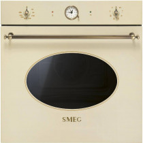 Smeg Einbaubackofen SFP805PO Antik-Design Crème-Messing 60 cm