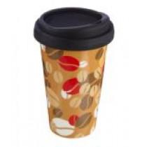 """[빅세일]  cilio 커피머그 Coffee-to-go  """"Kaffeebohnen"""" 재질 도자기 원산지 독일"""