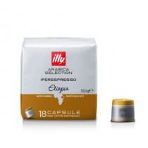 [합배송]  일리 캡슐커피 모노아라비카 이디오피아 18캡슐