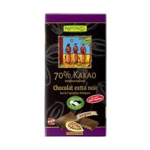 라푼젤 유기농 70% 카카오 다크초콜릿 12 x 80 g