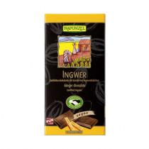라푼젤 유기농 55% 다크 생강 초콜릿  12 x 80 g