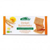 알로스 유기농 딩켈 버터 비스킷 , 3 x 150 g