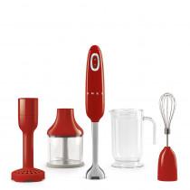 50's Retro Style Zitruspresse, Creme, Fruchtpresse, Filtersieb und Anti-Tropf-Auslauf aus Edelstahl, SMEG 3D-Logo, 70 W
