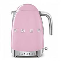 (CO2) SMEG 50's Retro Style, 1,7 L - Wasserkocher, Pastellgrün, Soft Opening Kannenverschluss, Anti-Kalkfilter, 2400 W