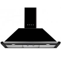 스메그 월타입 쿠킹후드 KT90PE 블랙 90cm