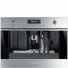Einbau-Kompakt-Kaffeevollautomat, 45cm, Edelstahl, Multilinguales 2 LCD-Display, Dampffunktion, Cappuccino - Milchaufschäumer + Milchkaffee