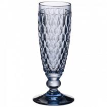 Villeroy & Boch Boston coloured Sektglas blue 163mm