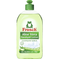 6 x Frosch Handspül-Lotion Aloe Vera, 0,5 l