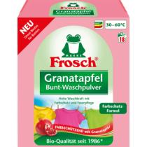 5 x Frosch Colorwaschmittel Pulver Granatapfel, 1.35kg