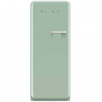 Smeg Standkühlschrank FAB28LV1 50's Retro Style 4**** Gefrierfach Energieeffizienzklasse A++ Linksanschlag Pastellgrün 60 cm
