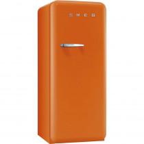 (ship) Smeg Standkühlschrank FAB28RO1 50's Retro Style 4**** Gefrierfach Energieeffizienzklasse A++ Rechtsanschlag Orange 60 cm