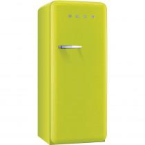 (ship) Smeg Standkühlschrank FAB28RVE1 50's Retro Style 4**** Gefrierfach Energieeffizienzklasse A++ Rechtsanschlag Apfelgrün 60 cm